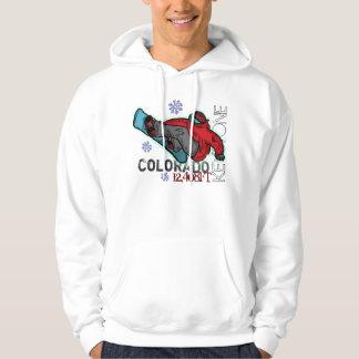 Guys Keystone Colorado snowboarder hoodie