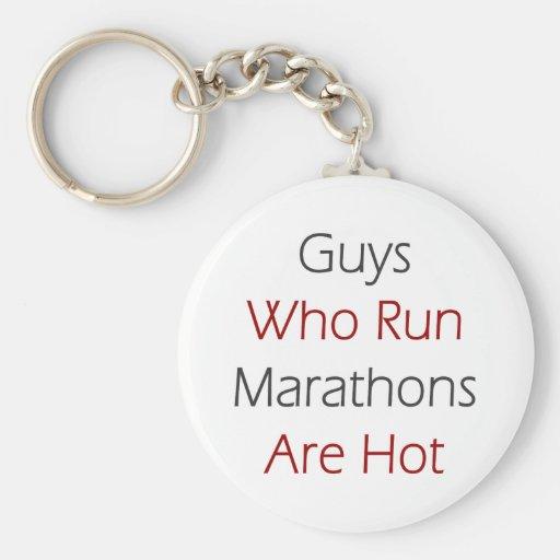 Guys Who Run Marathons Are Hot Key Chains