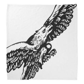 Guzzi Eagle Bandana - B&W