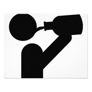 guzzler icon personalized invitations