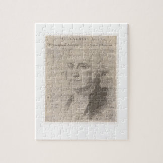 GW behind founding document Jigsaw Puzzle