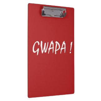 gwapa text Cebuano Filipino Tagalog Clipboard