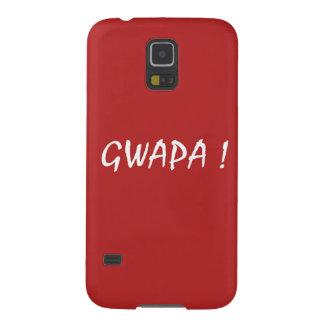 gwapa text Cebuano Filipino Tagalog Galaxy S5 Case