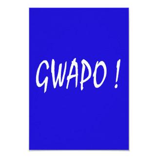 gwapo text handsome Tagalog filipino cebuano Card
