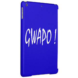 gwapo text handsome Tagalog filipino cebuano Case For iPad Air