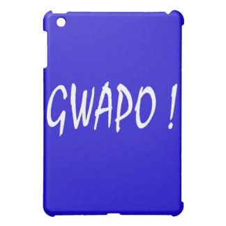 gwapo text handsome Tagalog filipino cebuano Case For The iPad Mini