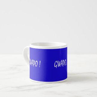 gwapo text handsome Tagalog filipino cebuano Espresso Cup