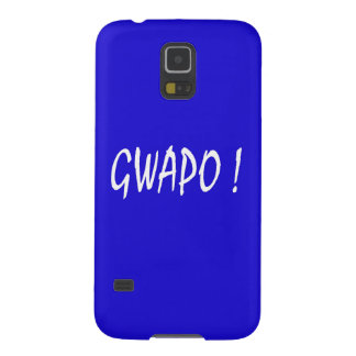 gwapo text handsome Tagalog filipino cebuano Galaxy S5 Case