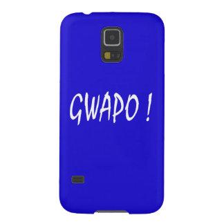 gwapo text handsome Tagalog filipino cebuano Galaxy S5 Cover