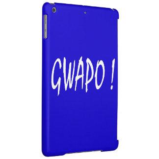 gwapo text handsome Tagalog filipino cebuano iPad Air Cover