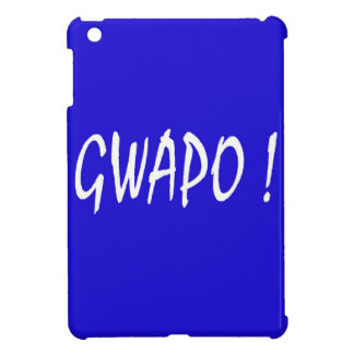 gwapo text handsome Tagalog filipino cebuano iPad Mini Cases