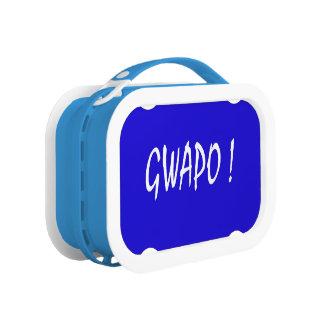 gwapo text handsome Tagalog filipino cebuano Lunch Box