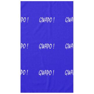gwapo text handsome Tagalog filipino cebuano Tablecloth