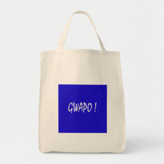 gwapo text handsome Tagalog filipino cebuano Tote Bag