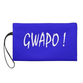 gwapo text handsome Tagalog filipino cebuano Wristlet