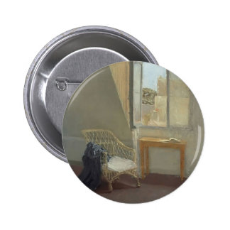 Gwen John- A Corner of the Artist s Room in Paris Pinback Buttons