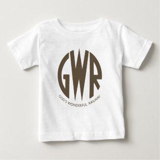 GWR Great Western Railways Trains Hiking Duck Baby T-Shirt