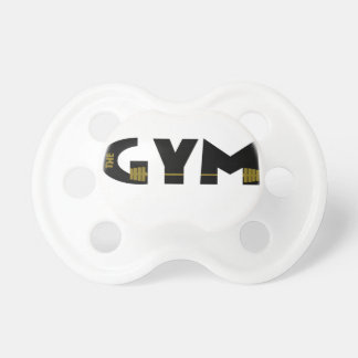Gym and fitness pacifier
