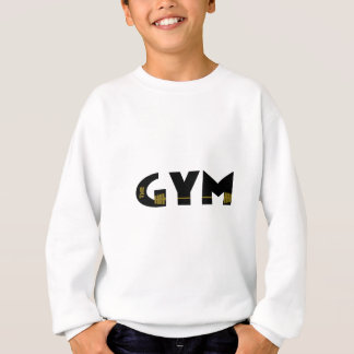 Gym and fitness sweatshirt