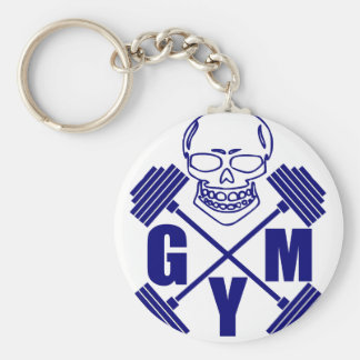 Gym and lifting keychain