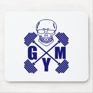 Gym and lifting mouse pad