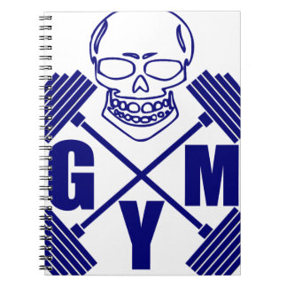 Gym and lifting spiral notebook