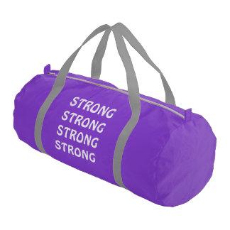 Gym Bag Purple