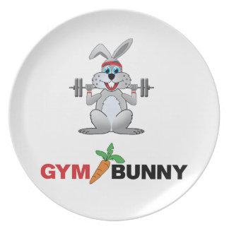 gym bunny 2 plate