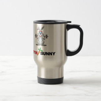 gym bunny 2 travel mug