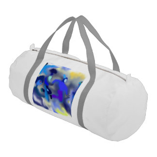 "Gym Duffle Bag ""FOG"" by MAR"