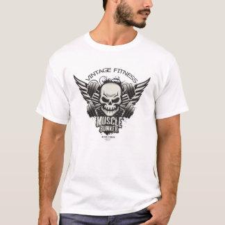 Gym & Fitness Skull T-Shirt