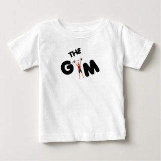 Gym funny texts baby T-Shirt