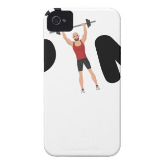 Gym funny texts iPhone 4 cases