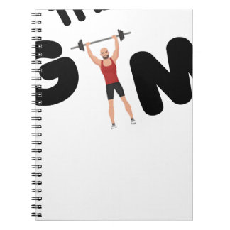 Gym funny texts notebooks