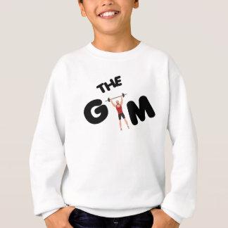 Gym funny texts sweatshirt