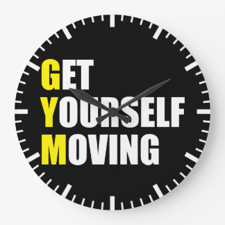 GYM - Get Yourself Moving - Workout Motivational Clocks