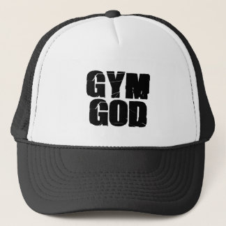 Gym God Trucker Hat