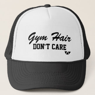 Gym Hair, Don't Care Trucker Hat