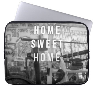 Gym - Home Sweet Home - Barbell - Workout Laptop Sleeve