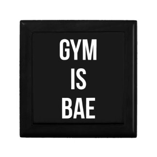 Gym Is Bae - Funny Workout Inspirational Gift Box