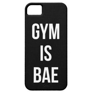 Gym Is Bae - Funny Workout Inspirational iPhone 5 Case