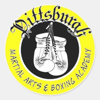 Gym Logo Stickers