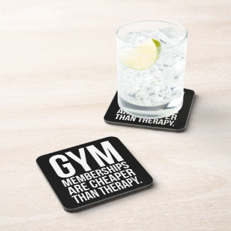 Gym Memberships Are Cheaper Than Therapy - Workout Coaster