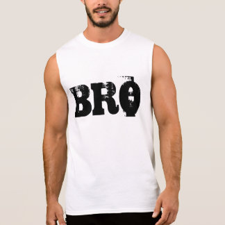 "Gym Motivation ""Bro"" Sleeveless Shirt"