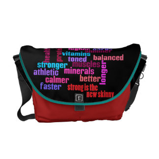 gym or sports motivational kit bag courier bags