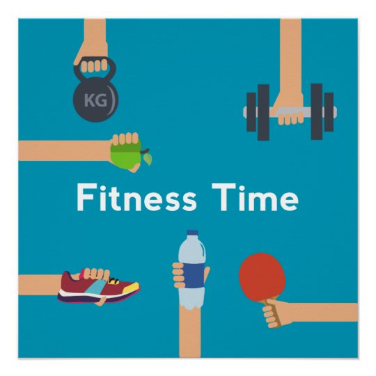 "Gym Poster 20"" x 20"", Poster Paper (Semi-Gloss)"