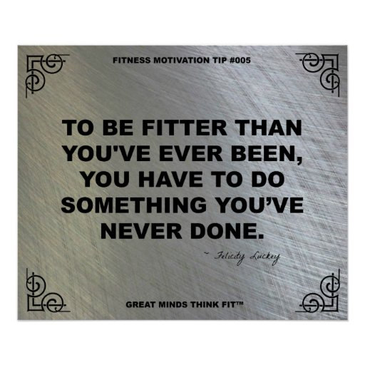 Gym Poster for Fitness Motivation #005