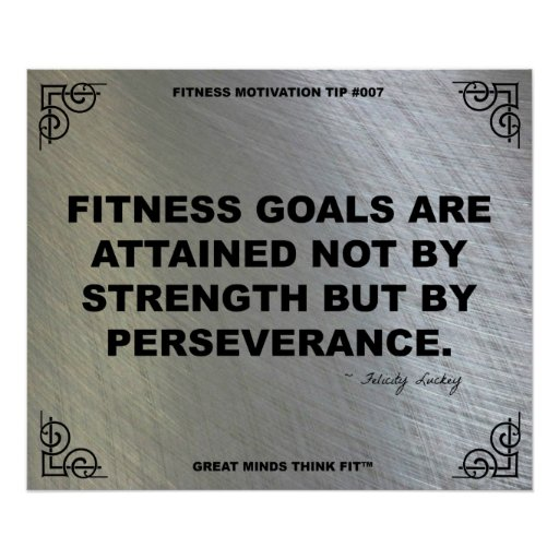 Gym Poster for Fitness Motivation #007
