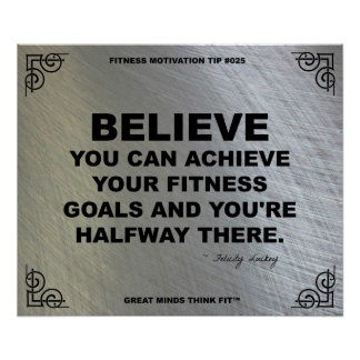 Gym Poster for Fitness Motivation #025