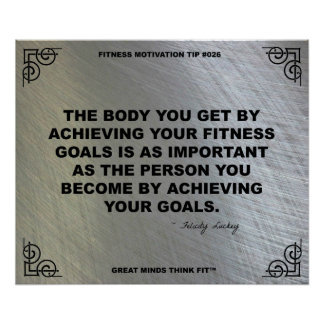 Gym Poster for Fitness Motivation #026